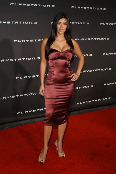 Kim Kardashian in Los Angeles, November 2006