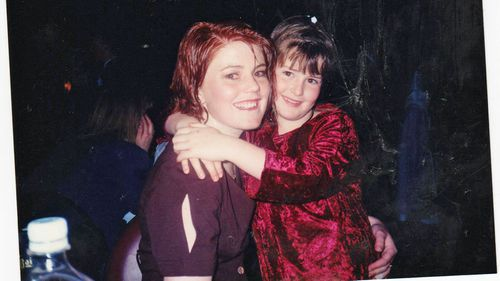 Sarah and her younger sister Brooke when they were growing up.
