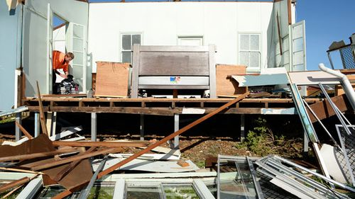 Cyclone Marcia photos and video (Gallery)