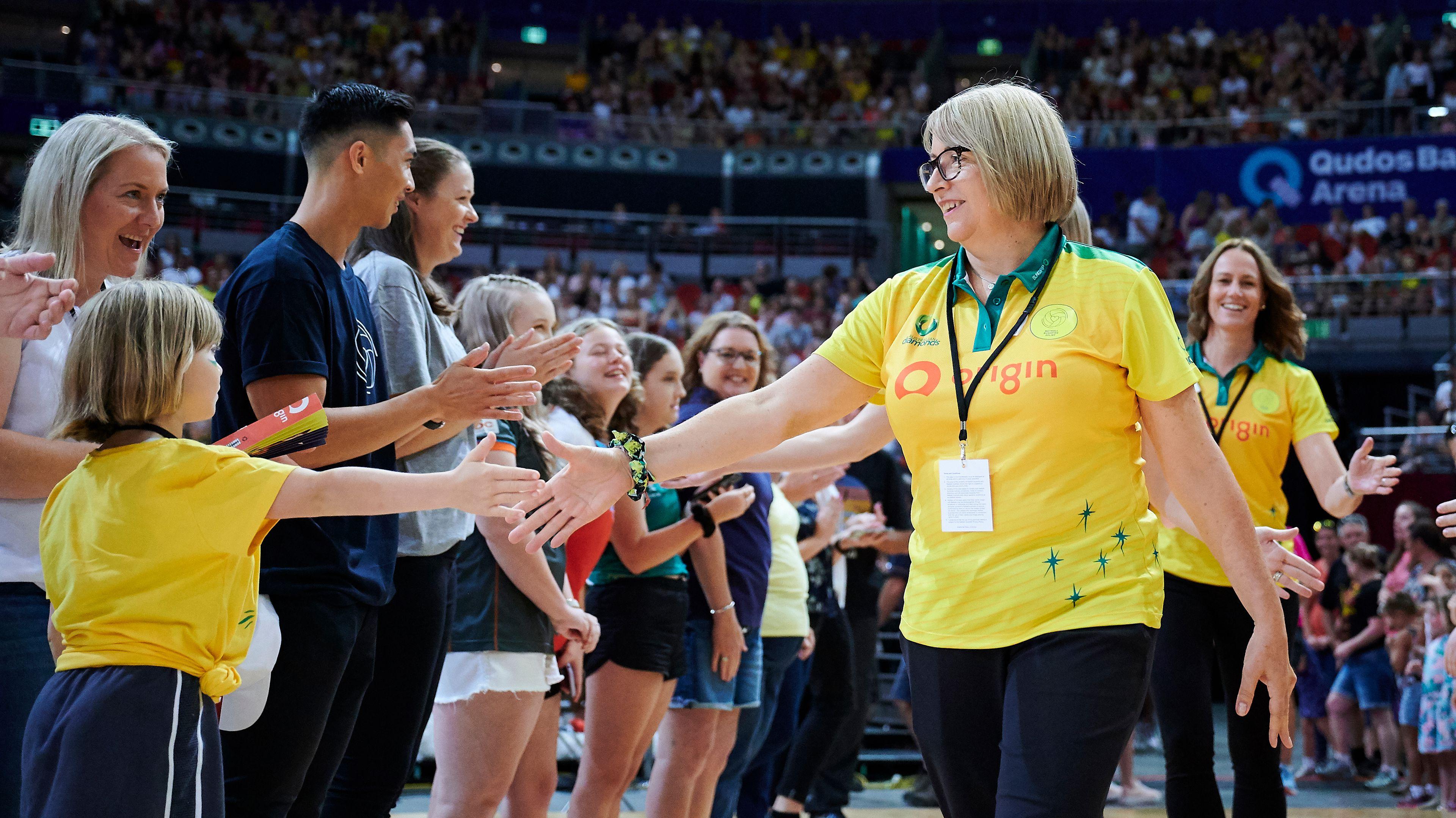 Former Diamonds head coach Lisa Alexander.