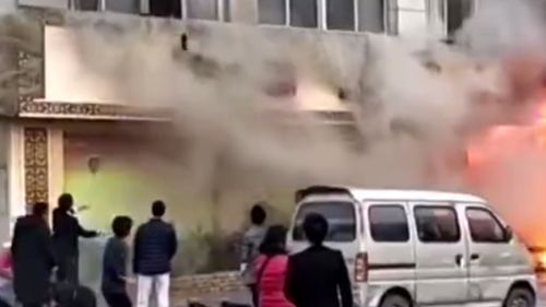 Eighteen people killed in fire at foot massage parlour in China