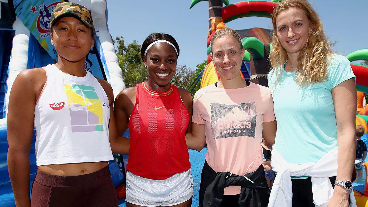 Brisbane International superstar Naomi Osaka unfazed by outside court opener