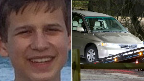 Kyle Plush died in his mini van in Ohio despite calling police for help.