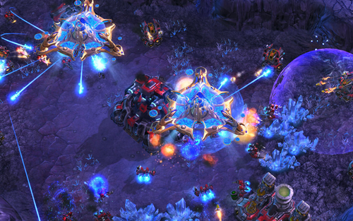 StarCraft II: Wings of Liberty is a science fiction real-time strategy video game developed and published by Blizzard Entertainment.
