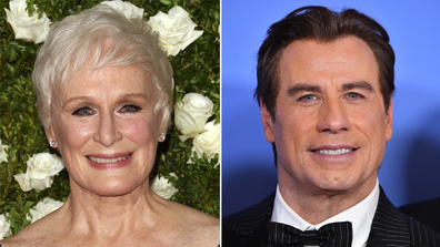 Celebrities, have not won Oscars, Glenn Close, John Travolta