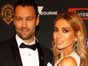 Jimmy Bartel and Nadia Bartel at the 2018 Brownlow Medal