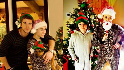 is this proof that miley cyrus and liam hemsworth eloped over christmas - Miley Cyrus Christmas
