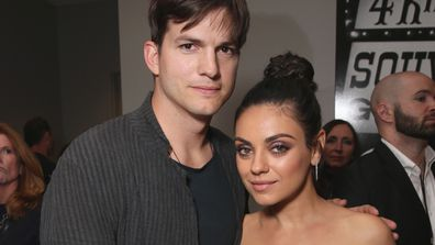 A bit rich: Mila Kunis and Ashton Kutcher are skipping lavish gift giving this Christmas. Image: Getty