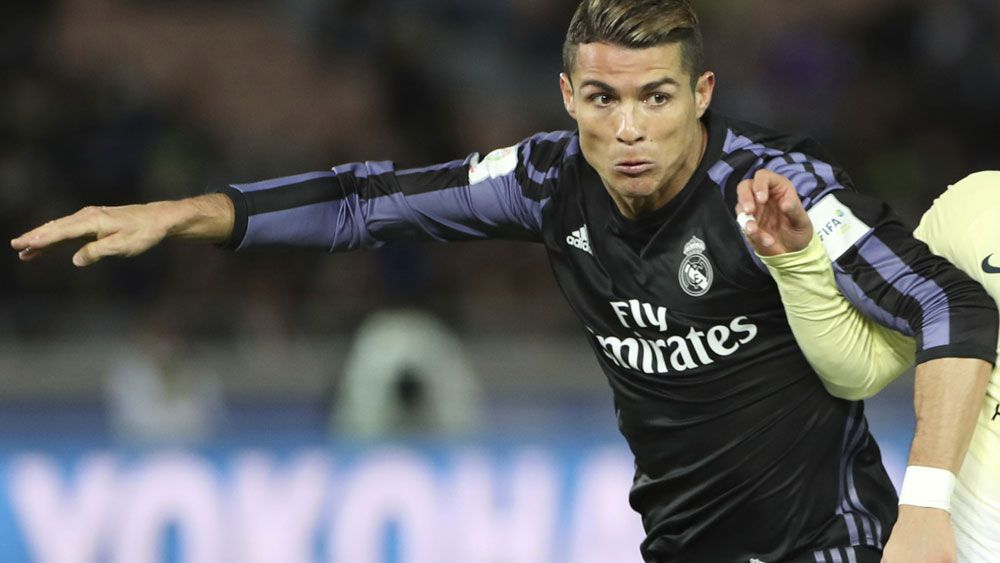 Cristiano Ronaldo is reportedly at the centre of an enormous transfer offer.  (AAP)