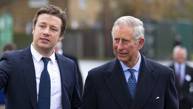 Prince Charles and Jamie Oliver