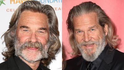 Kurt Russell and Jeff Bridges