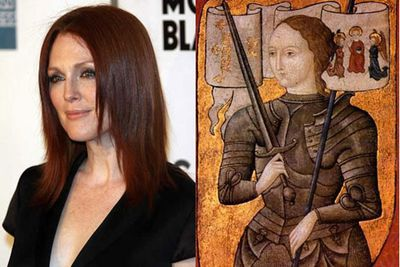 Julianne Moore a Joan of Arc ... in 1431.