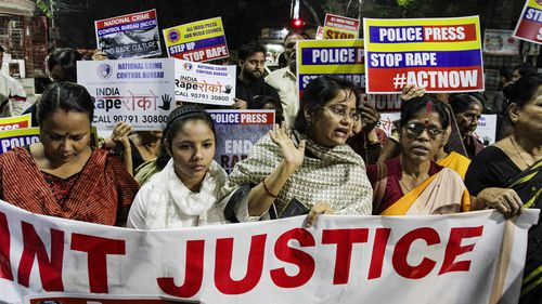 Recent high-profile rape cases have seen Indian women take to the streets in protest.