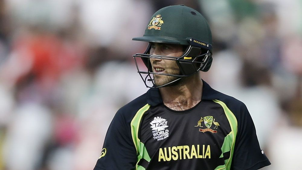 Maxwell dropped from Aussie ODI team