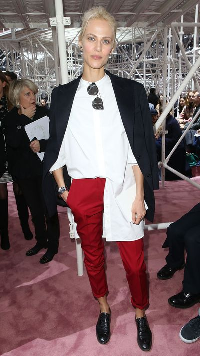 <p>At Dior's SS15 Couture show in February.</p>