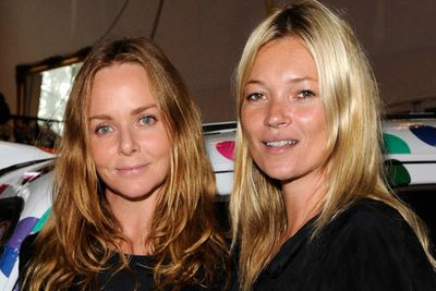 Stella McCartney and Kate Moss at the Stella McCartney Kids Party celebrating her SS12 Kids Collection in London.