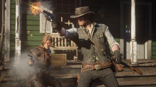 A game believed to be DLC for Red Dead Redemption 2 has also been banned.