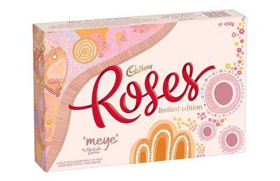 Cadbury Roses Limited Edition Michelle Kerrin box, $15.50
