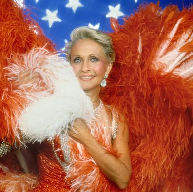 Jane Powell appears on Circus of the Stars in 1986.