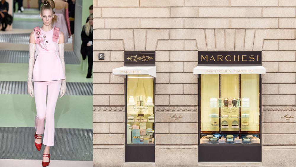 Prada opens re-vamped Pasticceria Marchesi in Milan