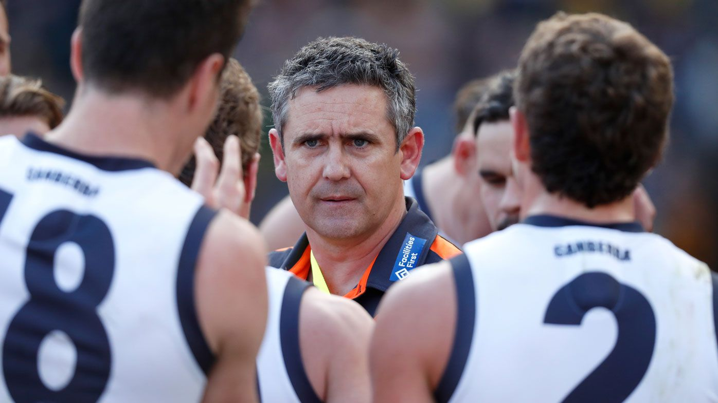 Giants to rise again in AFL after Grand Final demolition, says coach Leon Cameron