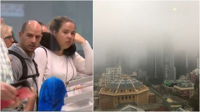 Flight delays continue as fog lifts at Melbourne Airport