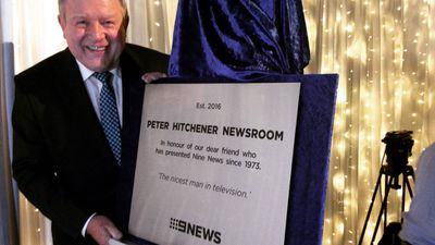 """""""The nicest man in television"""" - 9NEWS Melbourne is renamed in honour of a dear friend. (Twitter)"""