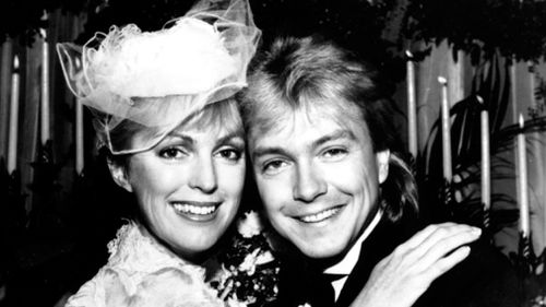 David Cassidy married Meryl Tanz in 1984. (AAP file image)