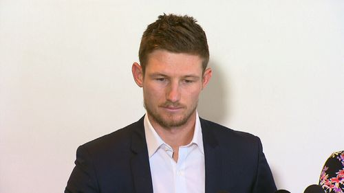 Cameron Bancroft asked for forgiveness from the community in a moving press conference.