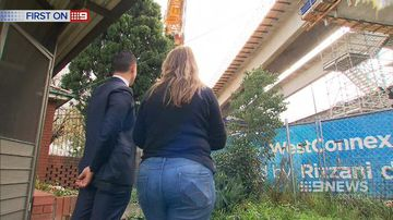 Family forced to live underneath Westconnex overpass