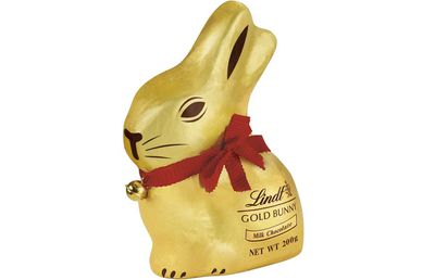 Lindt Gold Bunny Milk Chocolate 200g: 90 minutes of rope jumping