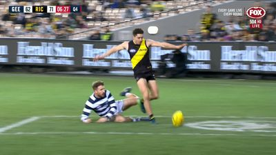 Tigers shade Cats in classic AFL clash