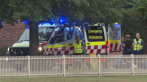 A man is dead after being hit by a car while cycling in Sydney's north-west.