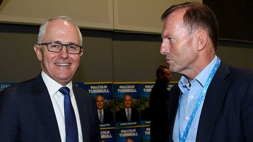 The PM and Mr Abbott have traded barbs about the country's energy policy.