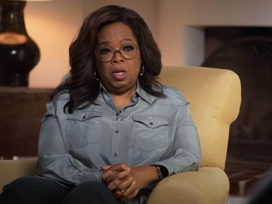 Oprah in a still from the trailer for The Me You Can't See