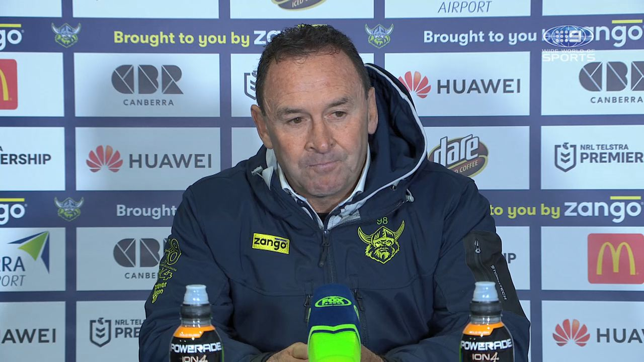 'No way in the world': Ricky Stuart fumes over controversial sin-bin during loss to Storm