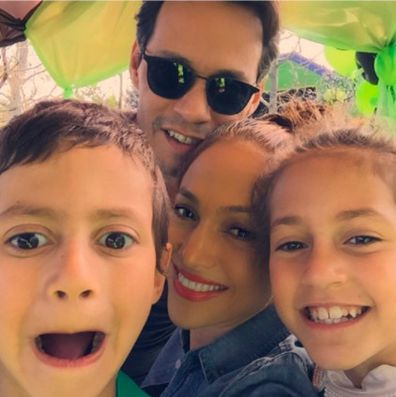 Jennifer Lopez and Marc Anthony's  twins Max and Emme celebrate 13th birthday.