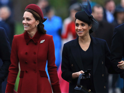 Meghan Markle Kate Middleton didn't attend royal wedding