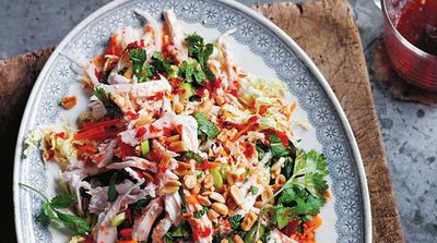 The Dinner Ladies Vietnamese chicken salad