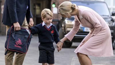 Prince George starts school