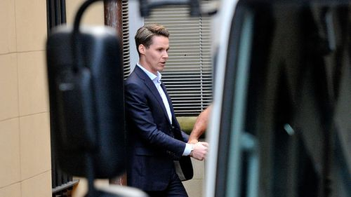 Roxy Jacenko's husband 'still detained in police station holding cell'