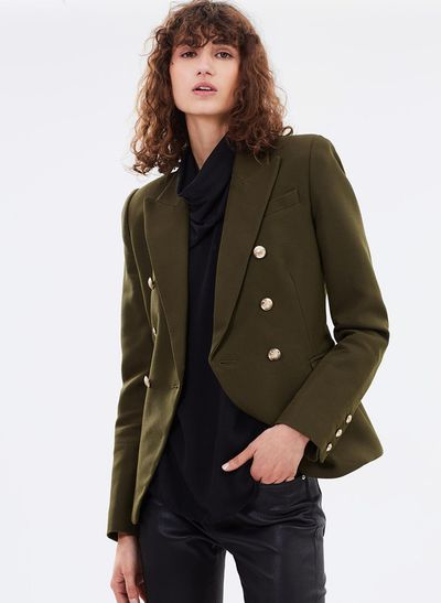 "Camilla and Marc blazer, $699 at <a href=""https://www.theiconic.com.au/dimmer-blazer-487980.html"" target=""_blank"">The Iconic</a><br />"