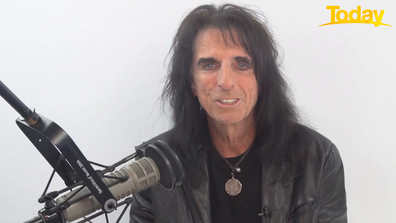 Alice Cooper says the 'light is at the end of the tunnel' now vaccines are being rolled out.