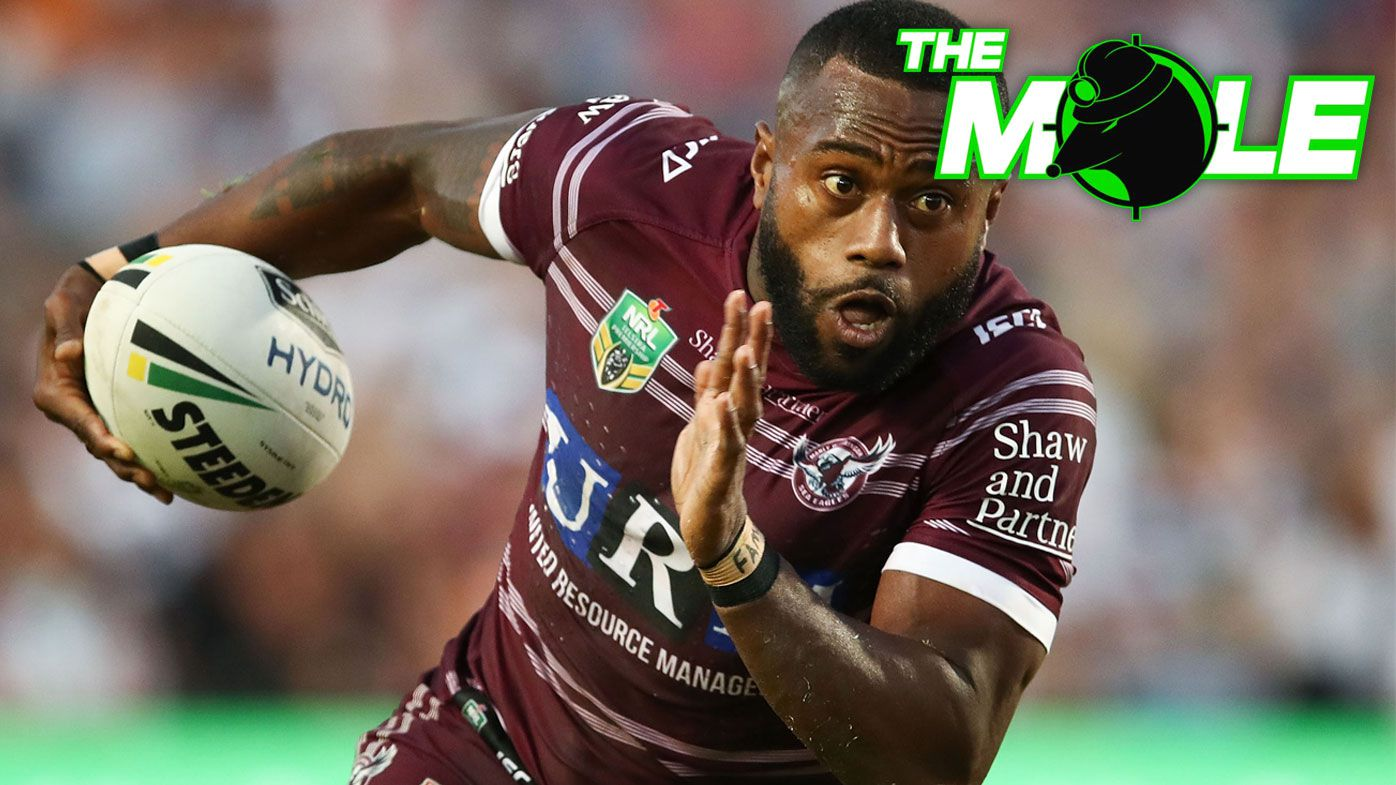 NRL: Manly Sea Eagles' Akuila Uate poised to sign deal with English club Huddersfield