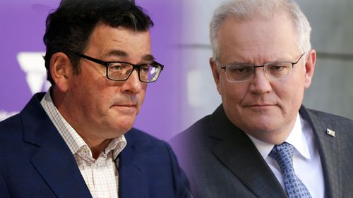Daniel Andrews Scott Morrison