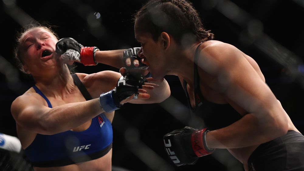 Rousey banned from the octagon as her star power wanes