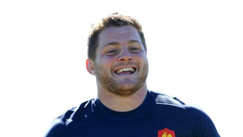 French hooker Benjamin Kayser, who suffered an arm injury in the attack.