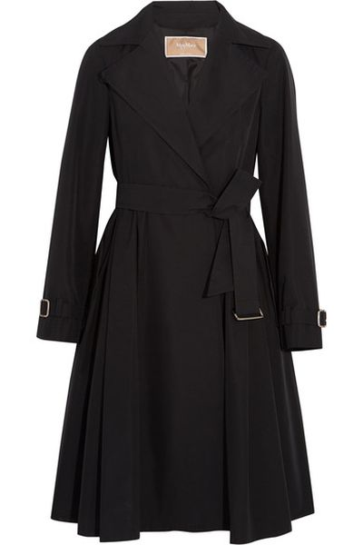 """<a href=""""https://www.net-a-porter.com/au/en/product/791925?resType=single&keywords=trench&termUsed=Max%20Mara&enableAjaxRequest=false"""" target=""""_blank"""">Max Mara</a> belted trench, $1720<br />"""