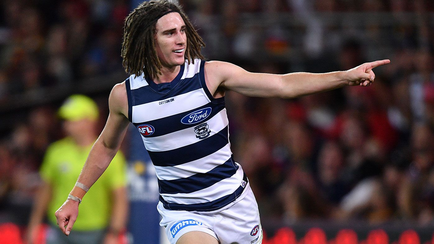 Geelong cult hero Gryan Miers reveals he wore the wrong boots before destroying Adelaide