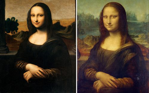 The subject in the Earlier Mona Lisa - also known as the Isleworth Mona Lisa - is a younger version of noblewoman Lisa Gherardini featured in the Mona Lisa (right) which hangs in the Louvre.